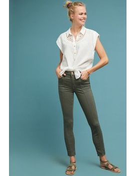 7 For All Mankind Roxanne Mid Rise Skinny Ankle Jeans by 7 For All Mankind