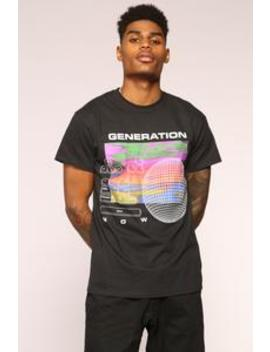 Generation Tee   Black/Combo by Fashion Nova