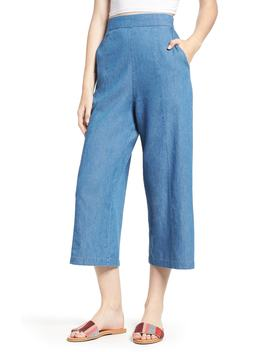 Tacoma High Waist Wide Leg Denim Pants by Bp.