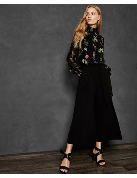 Florence Sheared Blouse by Ted Baker