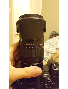Sigma 210101 18 35mm F1.8 Dc Hsm Lens For Canon Aps C Dsl Rs (Black) International Version (No Warranty) by Sigma