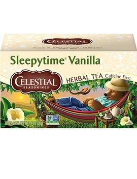 Celestial Seasonings Herbal Tea, Sleepytime Vanilla, 20 Count (Pack Of 6)   Packaging May Vary( by Celestial Seasonings