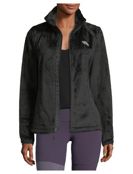 Osito Zip Front Fleece Performance Jacket, Black by The North Face