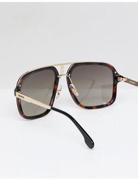 Carrera Aviator Sunglasses In Tort by Carrera