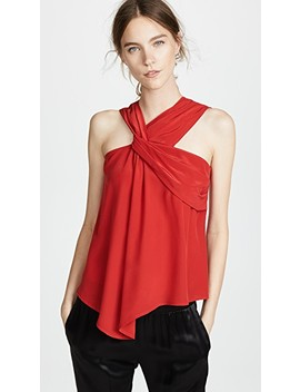 Drapery Tank Top by Yigal Azrouel