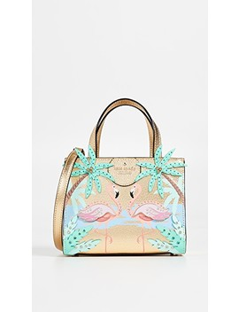 Sam Flamingo Small Tote Bag by Kate Spade New York