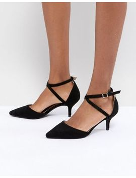 Raid Lyla Kitten Heel Court Shoe by Raid