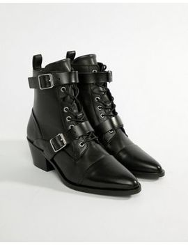 All Saints Lucie Buckle Boot by All Saints