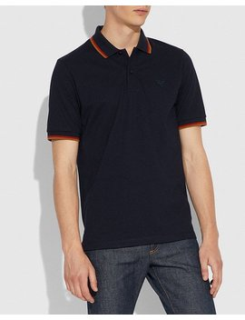 Rexy Patch Polo by Coach