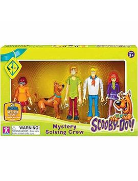 Scooby Doo Scooby Doo Mystery Mates Figure 5 Pack Mystery Solving Crew, Multicolor by Scooby Doo