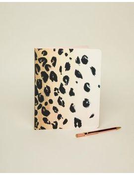 Kate Spade Leopard Notebook by Kate Spade