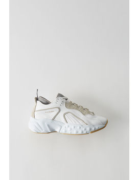 Technical Sneakers White/White by Acne Studios