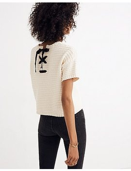 Lace Back Sweater Tee by Madewell