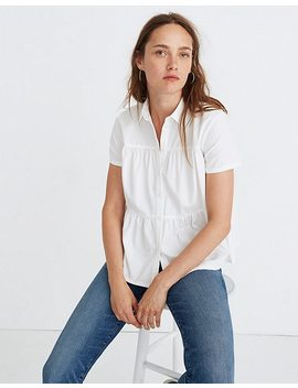 Seamed Button Down Shirt by Madewell