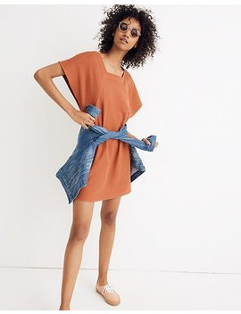 Texture & Thread Square Neck Dress by Madewell