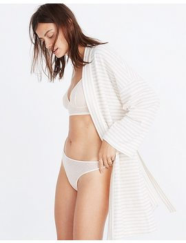 Swiss Dot Thong by Madewell