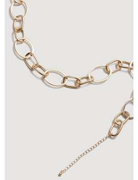 Metal Chain Necklace by Mango