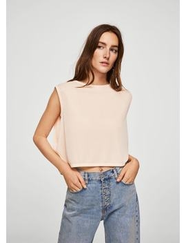 Cropped Layer Top by Mango