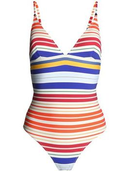 Striped Swimsuit by Stella Mc Cartney