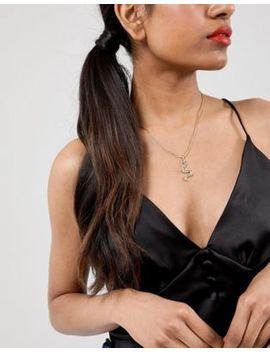 Design B London Snake Pendant Necklace by Design B
