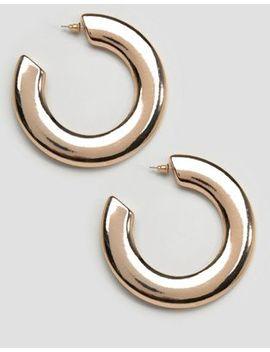 New Look Wide Hoop Earrings by New Look