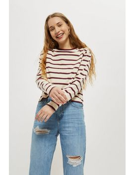 Tall Long Sleeve Crew T Shirt by Topshop