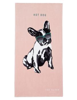 Hot Dog Beach Towel by Ted Baker London