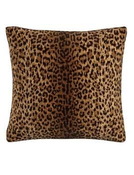 Skyline Pillow In Cheetah Earth 20x20 by Skyline