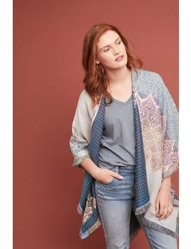 Josephina Floral Wrap by Anthropologie