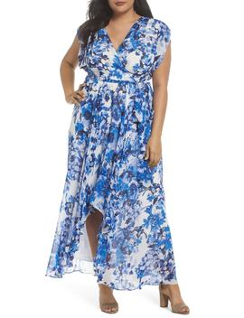 Tie Waist Maxi Dress by Eliza J