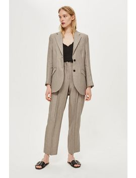 **Linen Blazer By Boutique by Topshop