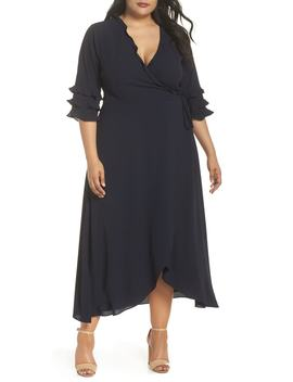Bridgette Wrap Dress by Cooper St