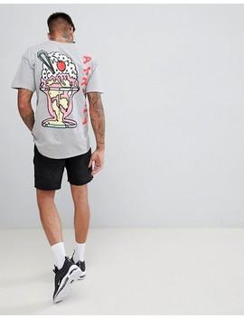 New Love Club Sundae Back Print T Shirt by New Love Club