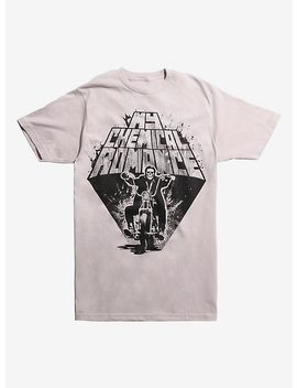 My Chemical Romance Motorcycle Skeleton T Shirt by Hot Topic