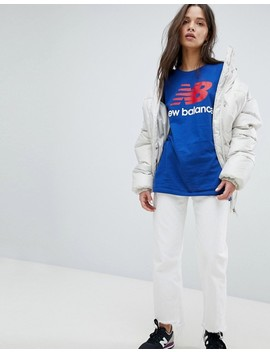 New Balance T Shirt In Blue by New Balance