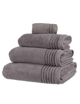 John Lewis Ultra Soft Towels, Steel by John Lewis