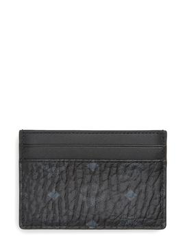Logo Leather Card Case by Mcm