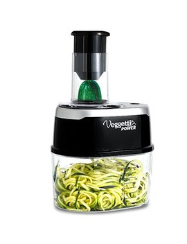Ontel Veggetti Power 4 In 1 Electric Spiralizer Turn Veggies Into Healthy Delicious Meals As Seen On Tv by Ontel