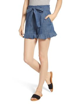 Tie Waist Chambray Shorts by Bp.