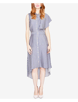 Striped One Sleeve Shirtdress, Created For Macy's by Rachel Rachel Roy