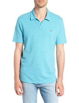 Solid Linen & Cotton Polo by Vineyard Vines