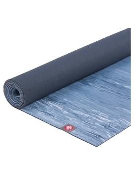 Manduka® E Ko® Lite Marble Print Yoga Mat   Blue (4mm) by Manduka