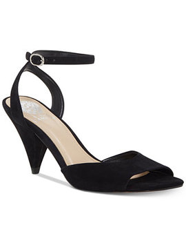 Benatta Cone Heel Dress Sandals, Created For Macy's by Vince Camuto