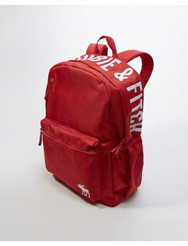 Logo Backpack by Abercrombie & Fitch