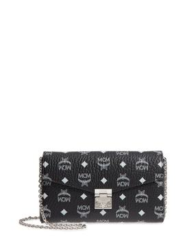 Millie Visetos Canvas Wallet On A Chain by Mcm