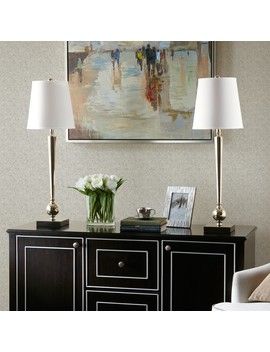 Madison Park Signature Luxor Silver Table Lamp by Madison Park