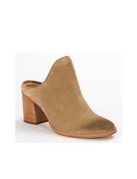 Naomi Suede Block Heel Mules by Generic