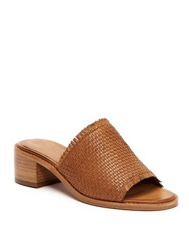 Cindy Woven Leather Mules by Generic