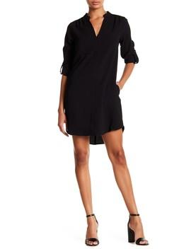 3/4 Length Sleeve Novak Shift Dress by Lush