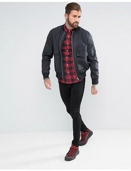 Asos Design Tall – Enges Westernhemd Mit Buffalo Karomuster by Asos